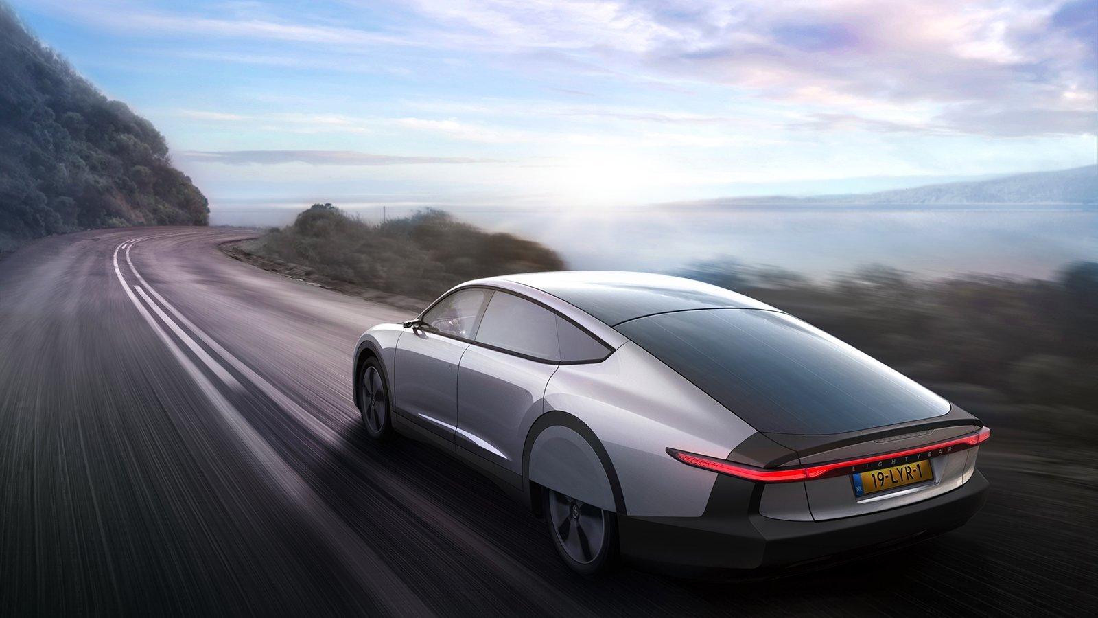 Dutch company develops partly solar powered car