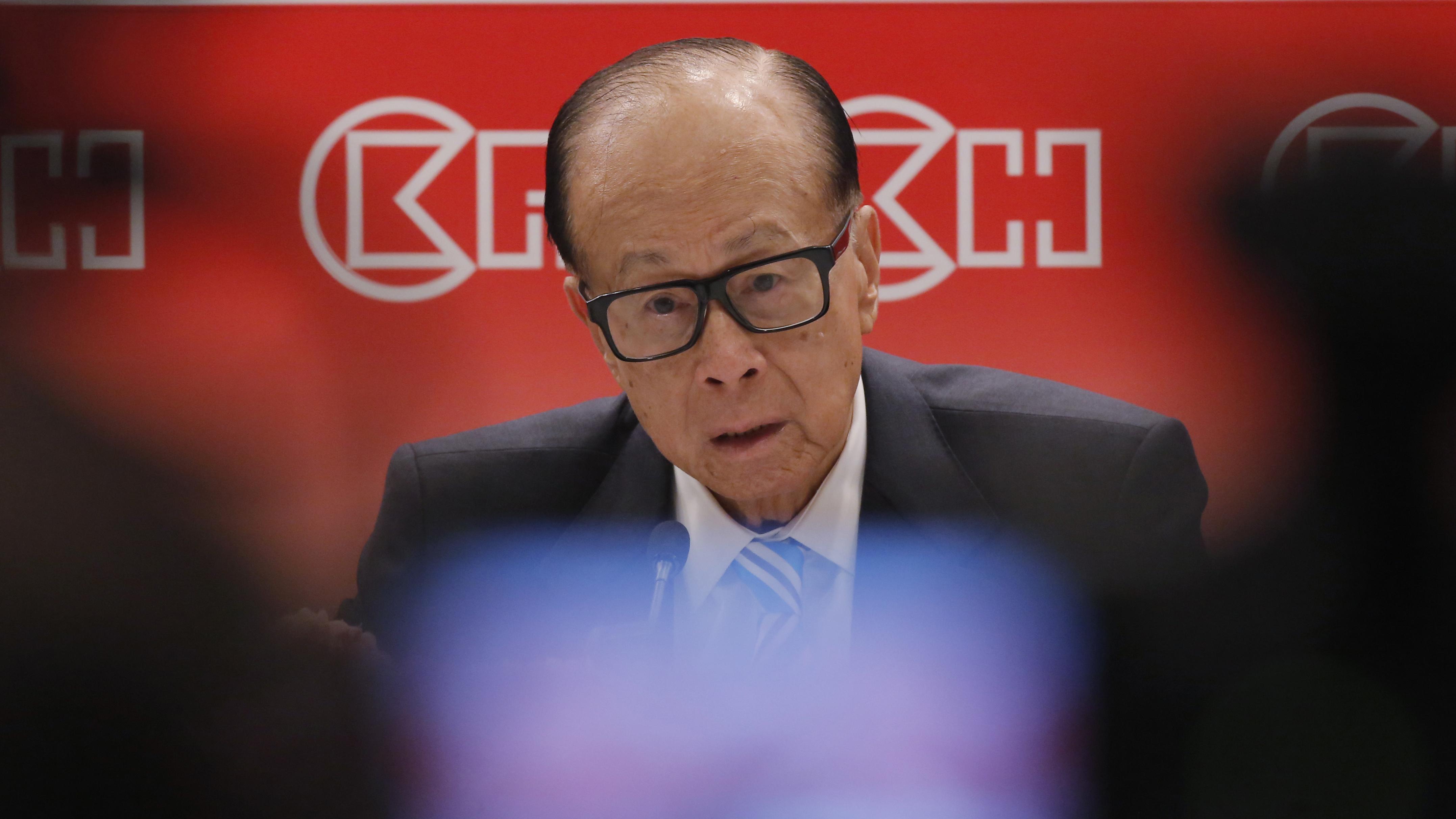 Hong Kong's richest man Li Ka-shing defends China's plans for security law
