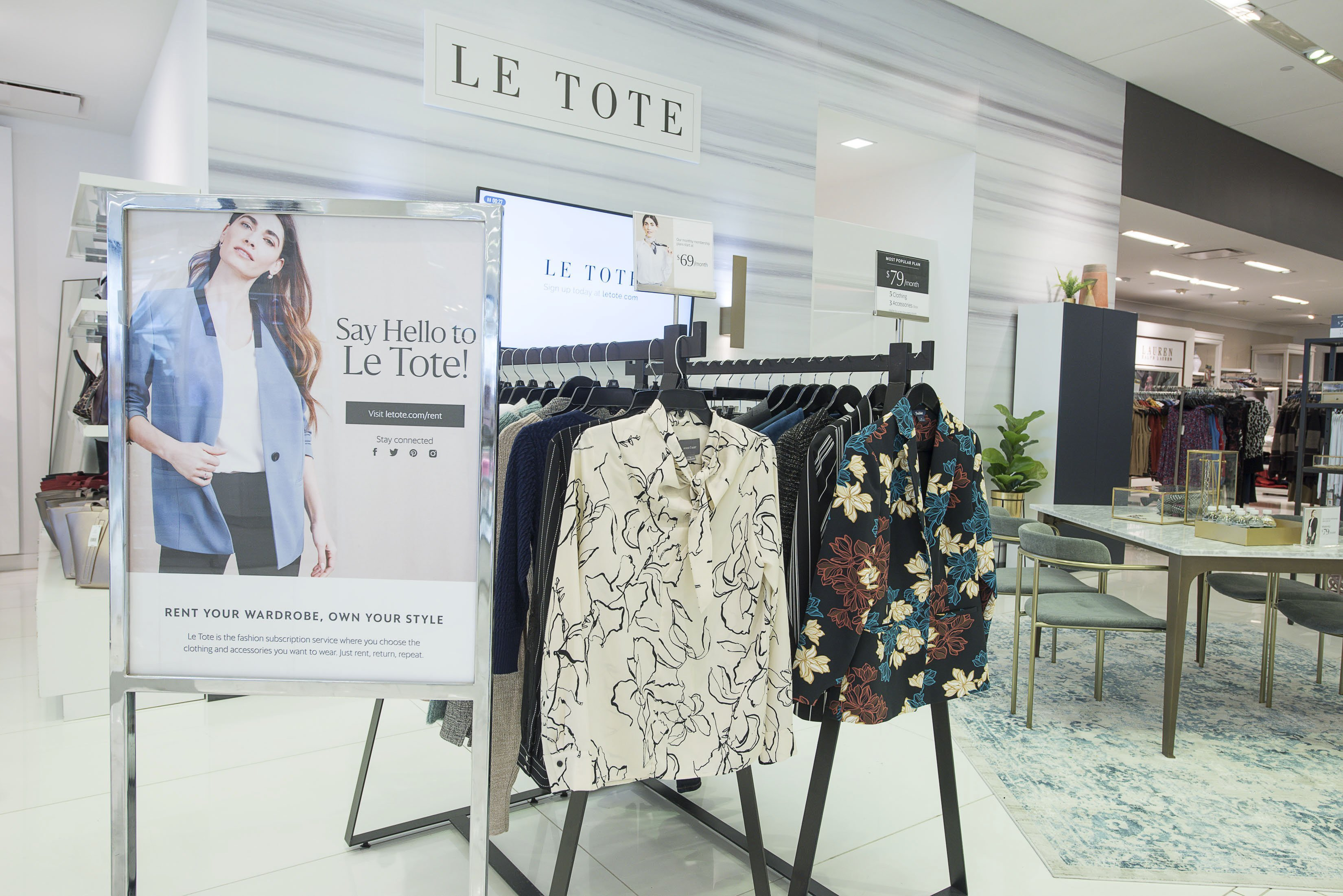 Lord & Taylor is returning to New York with a pop-up store
