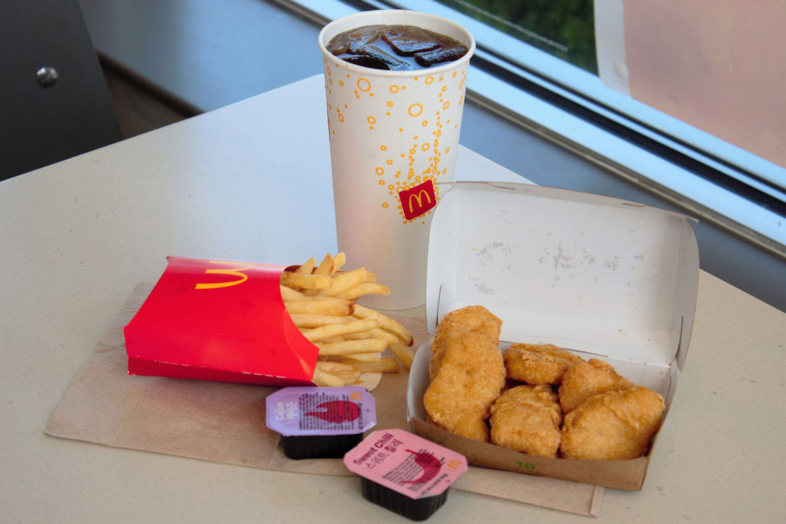 Chicken sandwich and BTS meal helped boost McDonald's sales