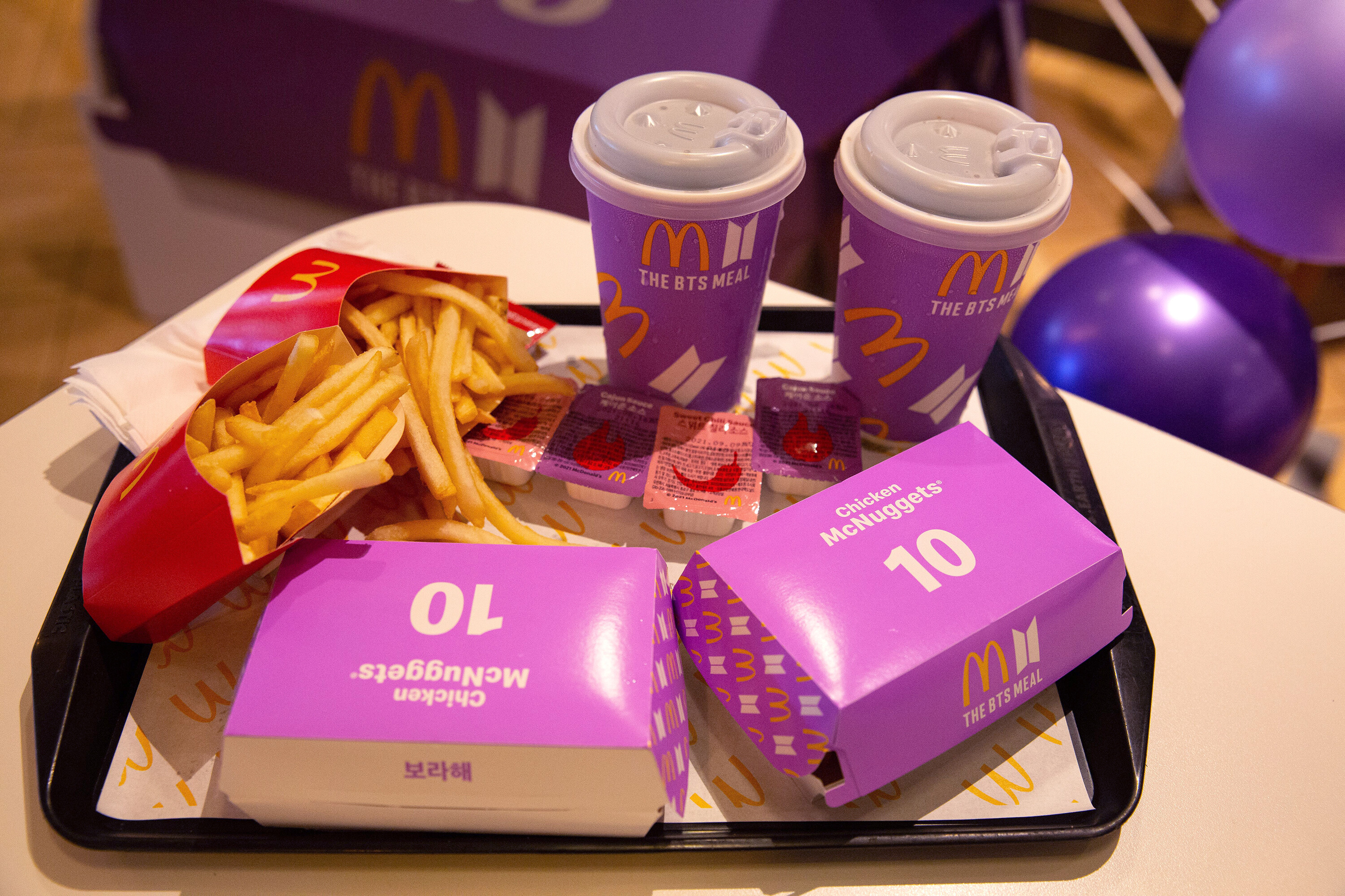 McDonald's gets a big boost from higher prices, celebrities and chicken