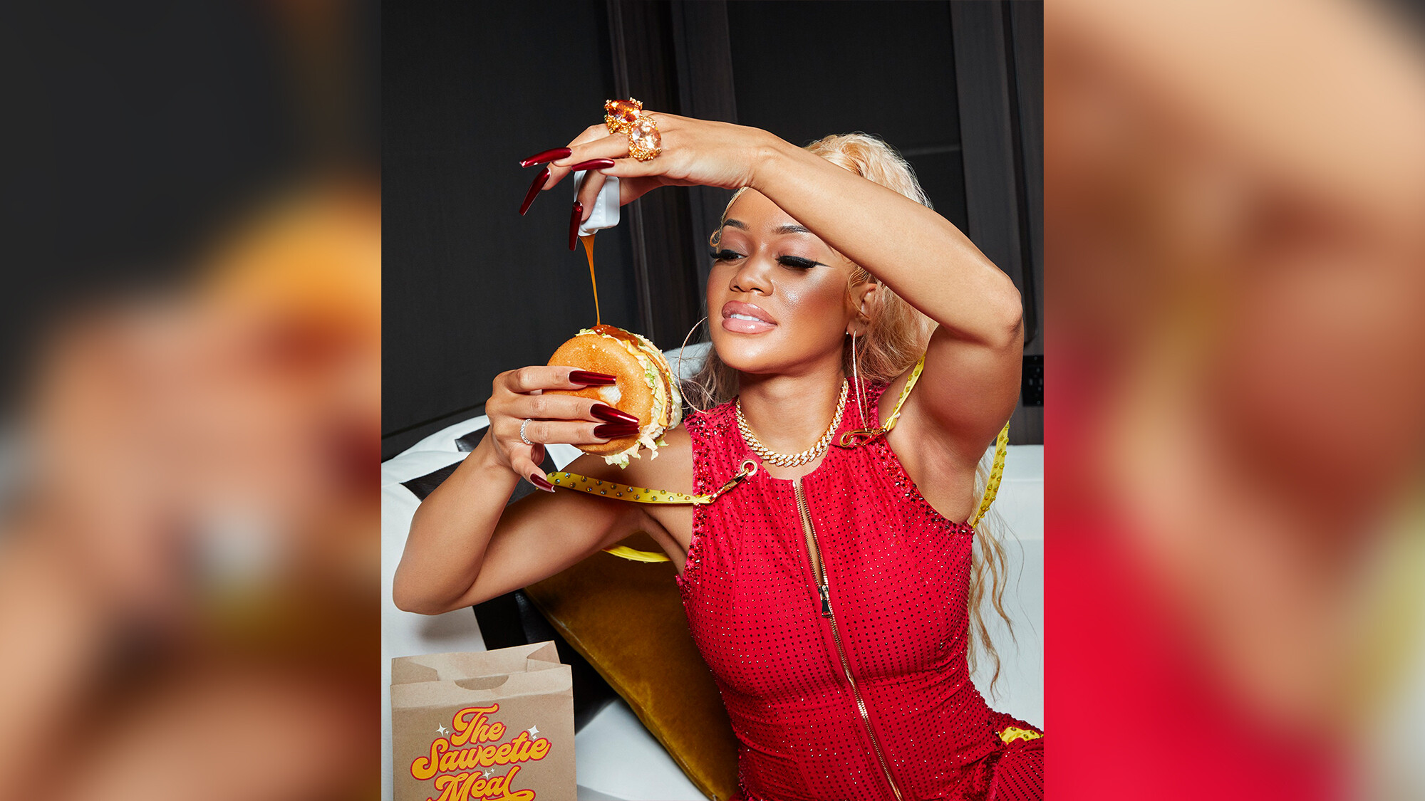 McDonald's replaces BTS with Saweetie for its next celebrity meal