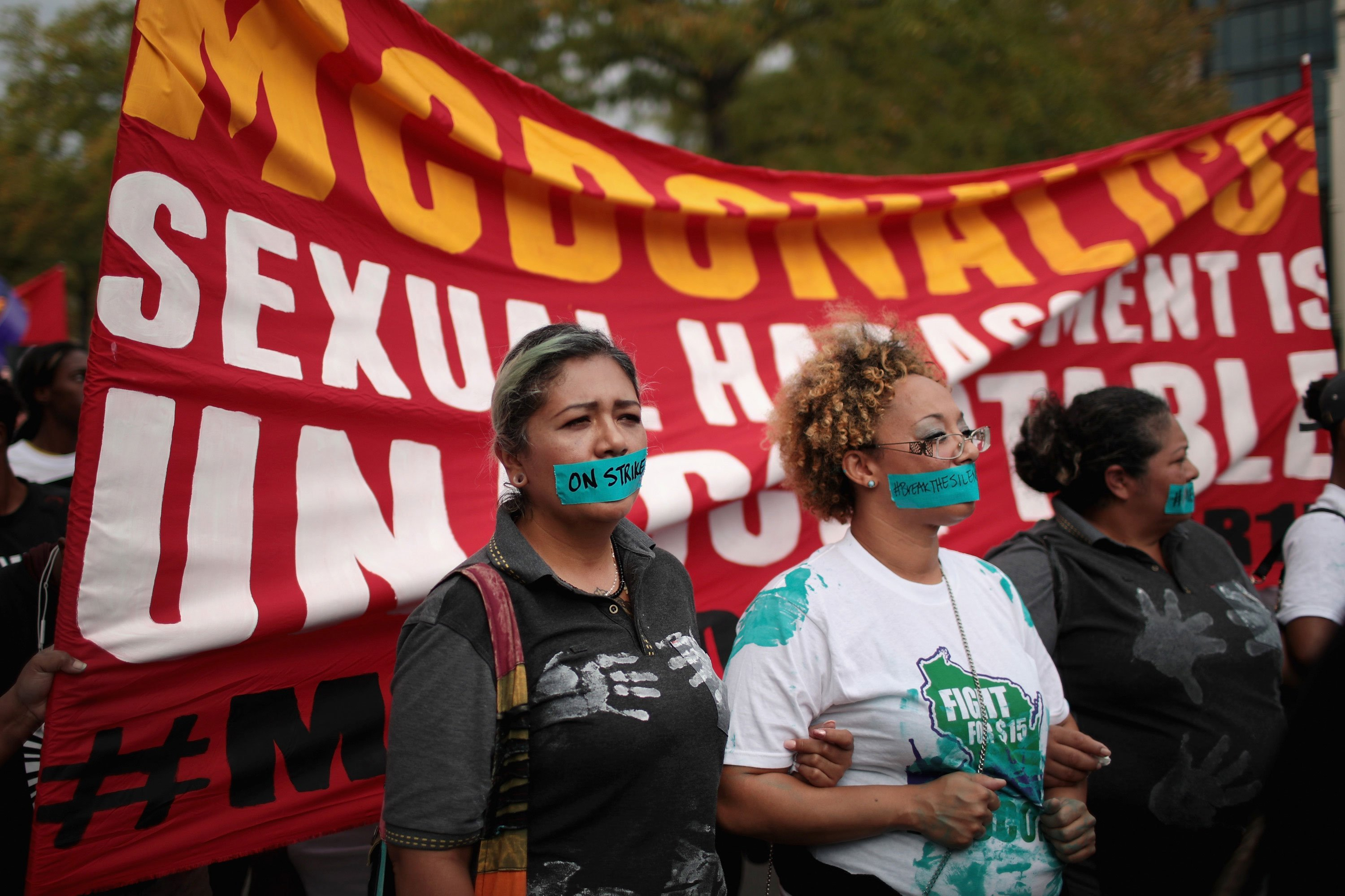 ACLU and Michigan workers file sexual harassment suit against McDonald's