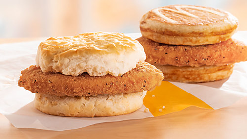 Image for McDonald's is fighting the breakfast war with chicken sandwiches