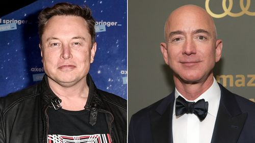 Image for Elon Musk overtakes Jeff Bezos to become world's richest person