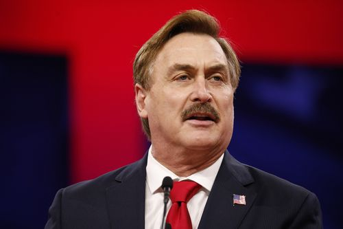 Image for MyPillow CEO Mike Lindell has been banned from Twitter