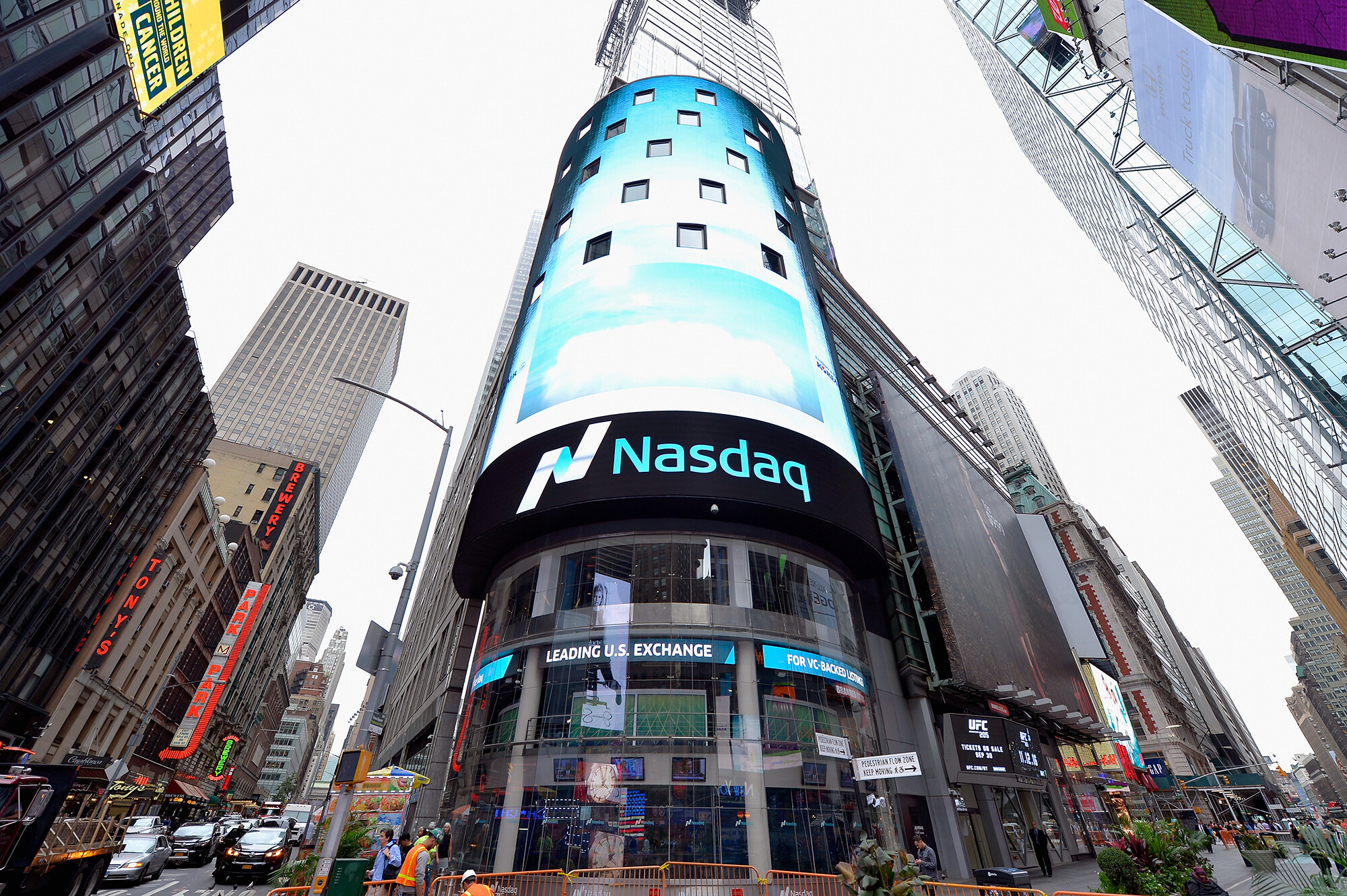Nasdaq hits 15,000 for first time ever. Is Dow 36,000 next?