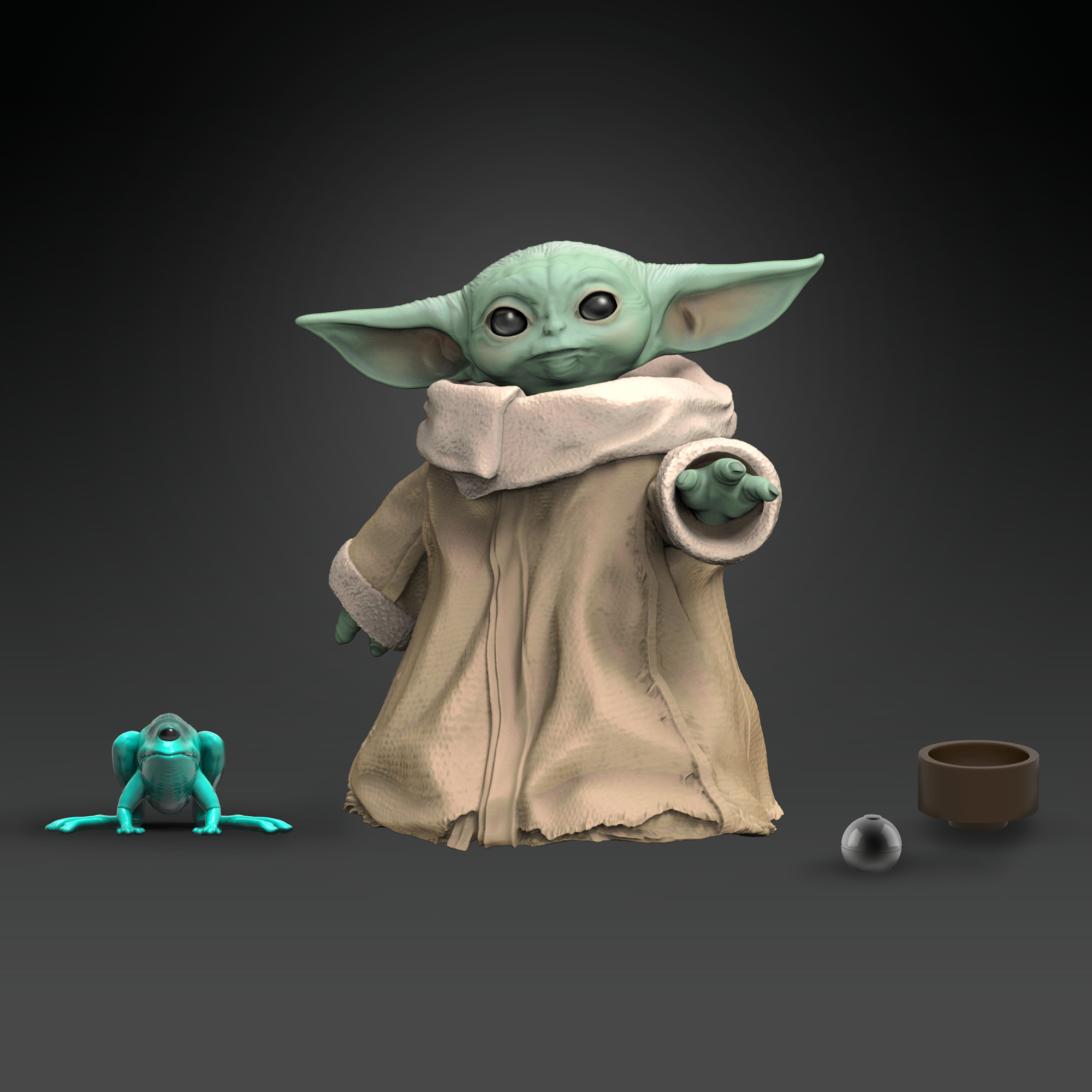 The Baby Yoda toys we've been waiting for are finally here