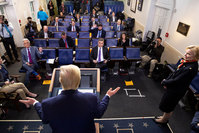 White House Correspondents Association removes far-right outlet from briefing room rotation