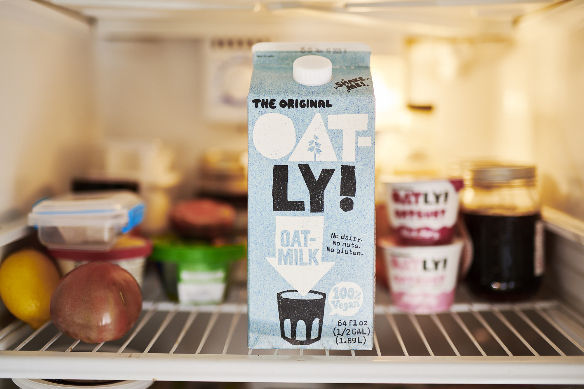 Oprah-backed Oatly just made a move to go public
