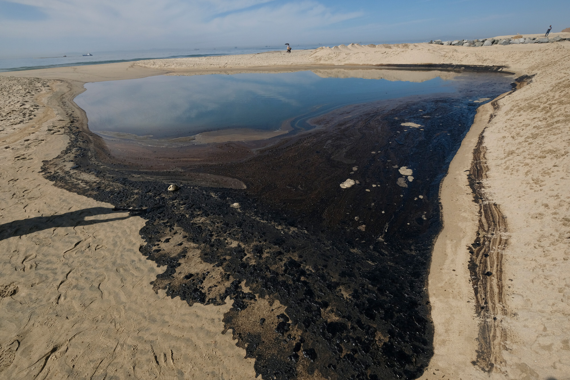 Stock plunges at the tiny company responsible for California's massive oil spill