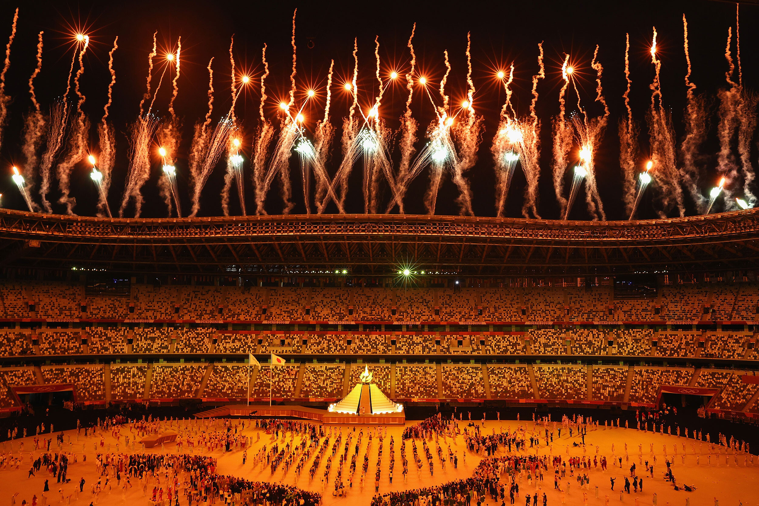 Ratings plunged for the Olympics opening ceremony, but streaming was solid