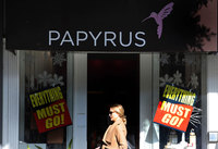 Papyrus, another mall staple, is closing all its stores