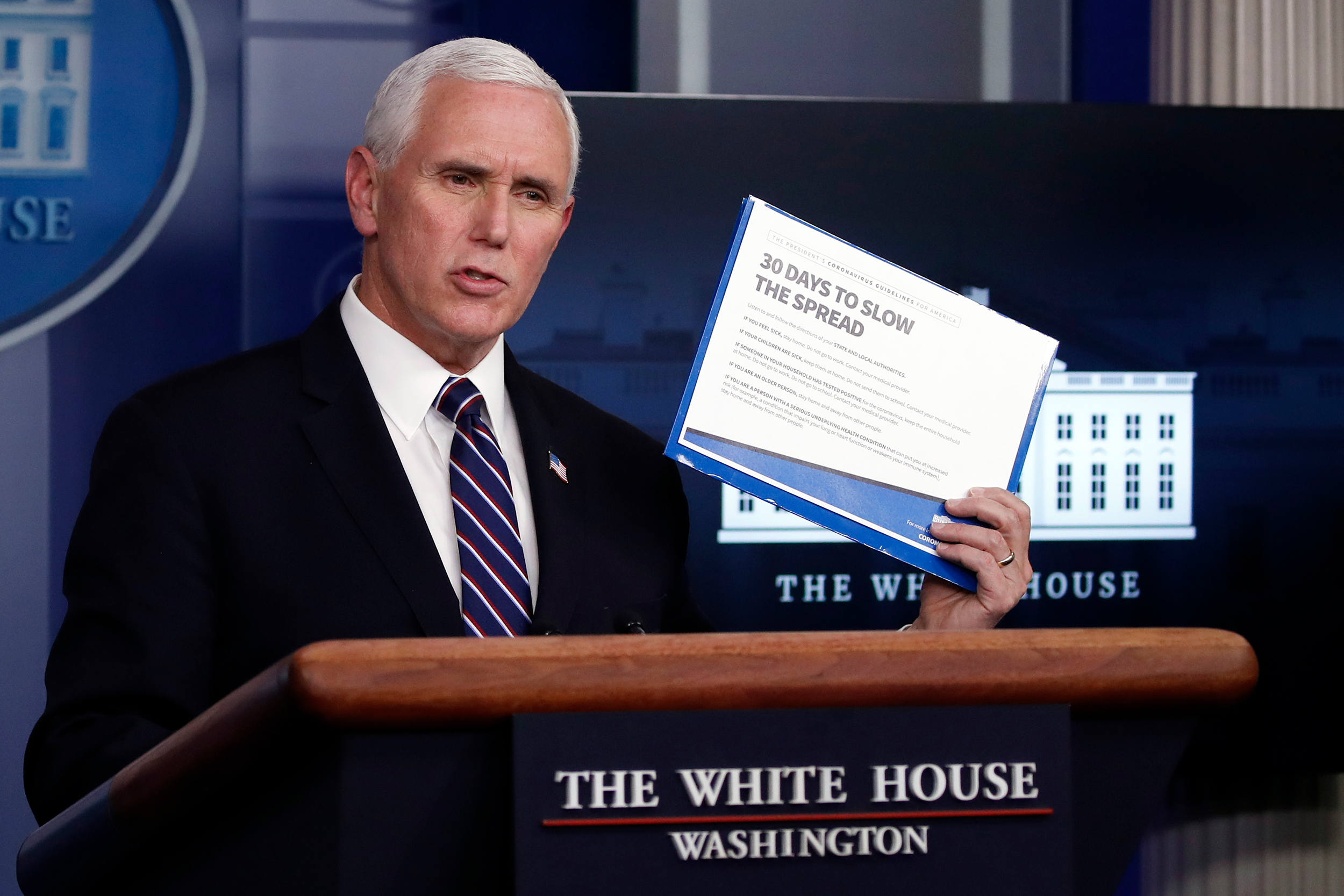 Pence's office blocks public health officials from appearing on CNN