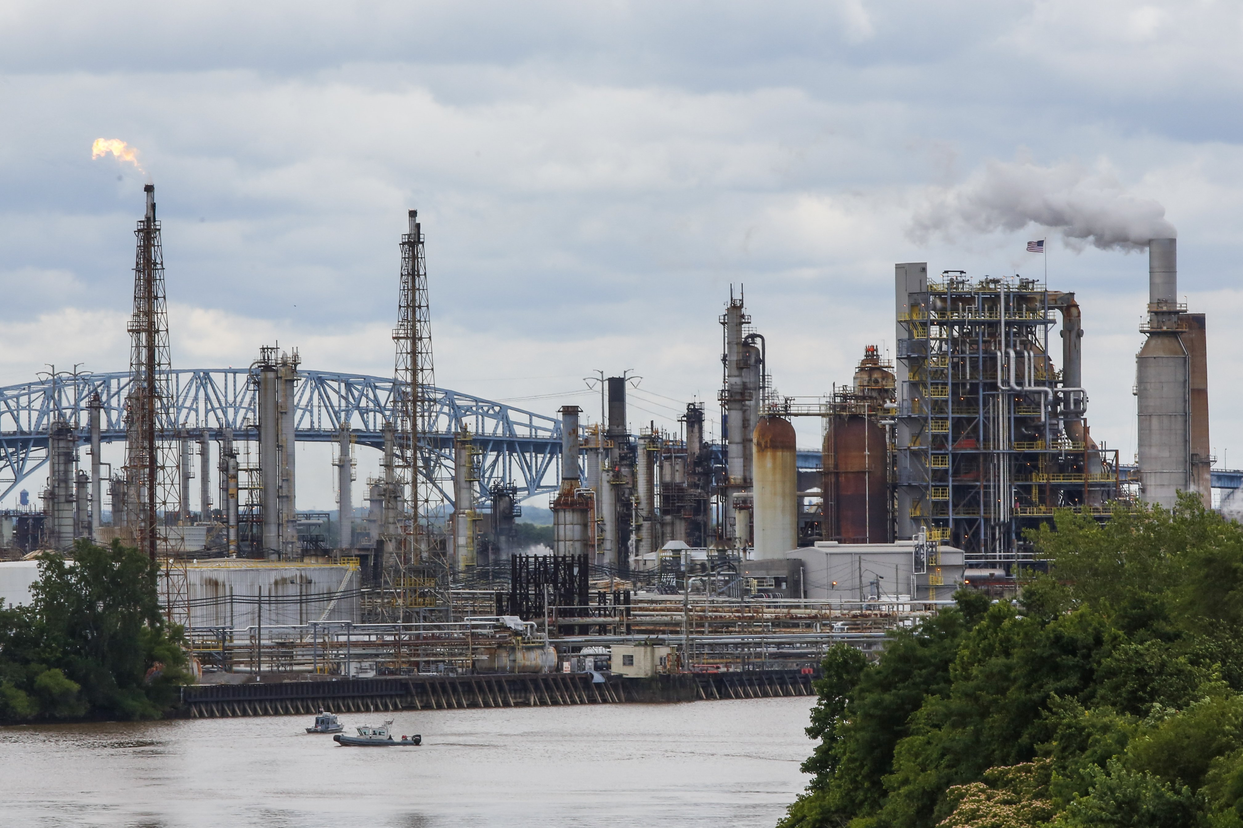 Philadelphia refinery goes bankrupt after fire. It's the second bankruptcy in 1.5 years