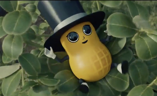 Image for With Baby Nut, Planters solves the problem of their deceased mascot Mr. Peanut