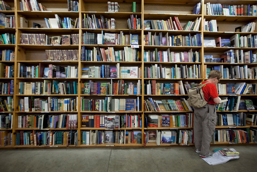 Image for Portland's iconic Powell's Books rehires 100 laid-off workers to meet online surge in orders