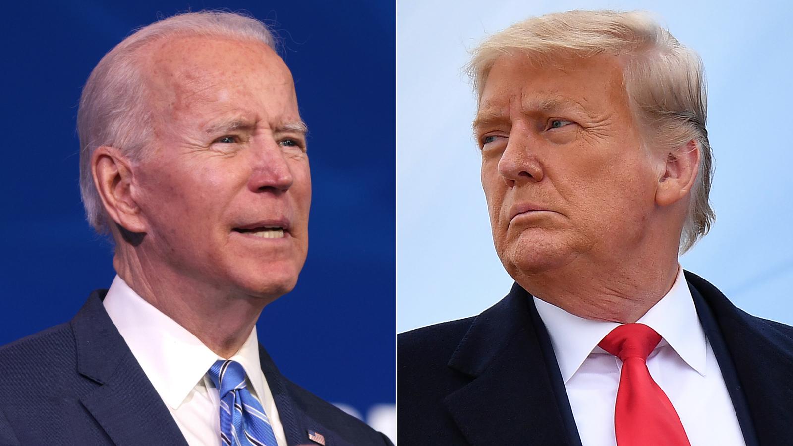 Trump is handing Biden a booming stock market