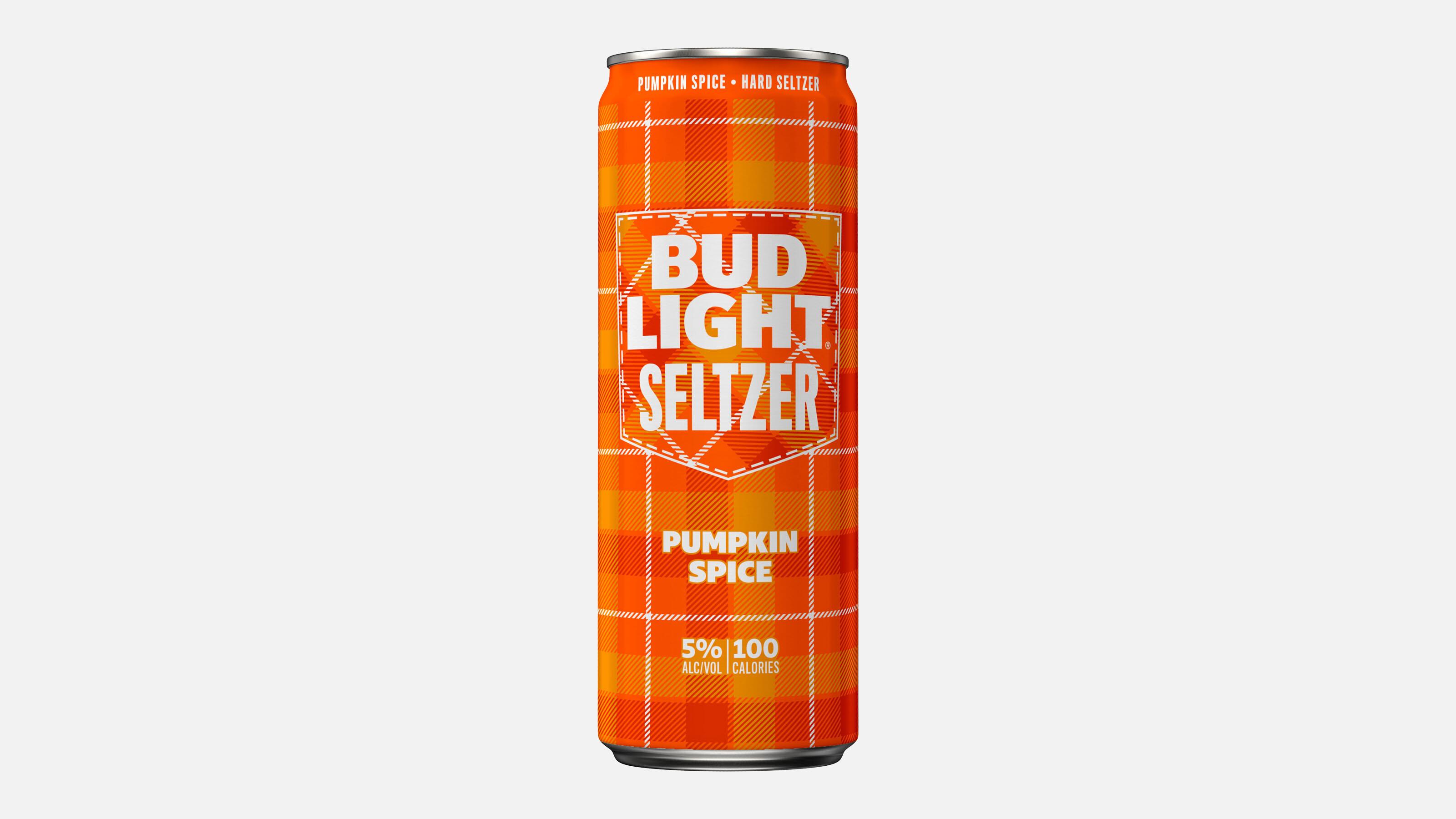 Bud Light is launching a pumpkin spice spiked seltzer