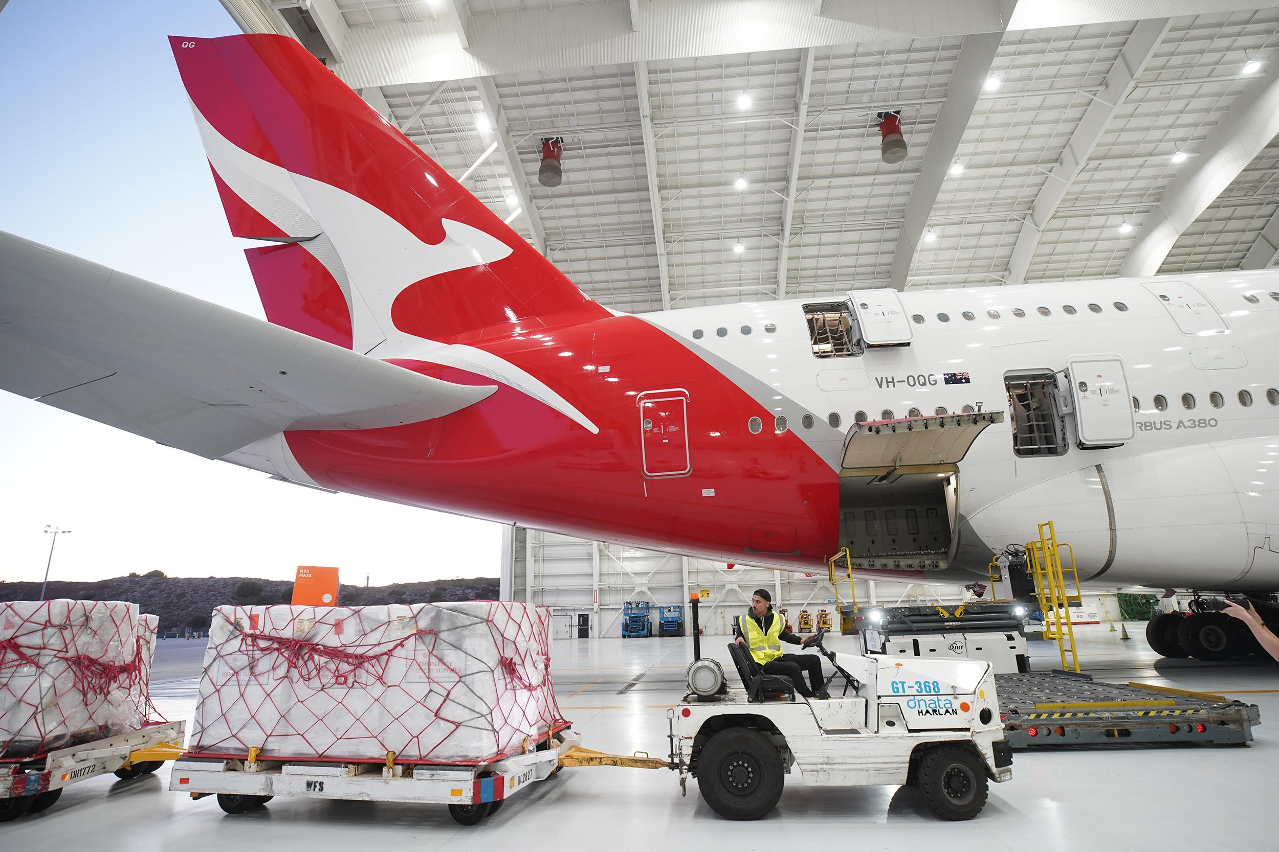 Qantas, Air France, KLM tally up coronavirus costs
