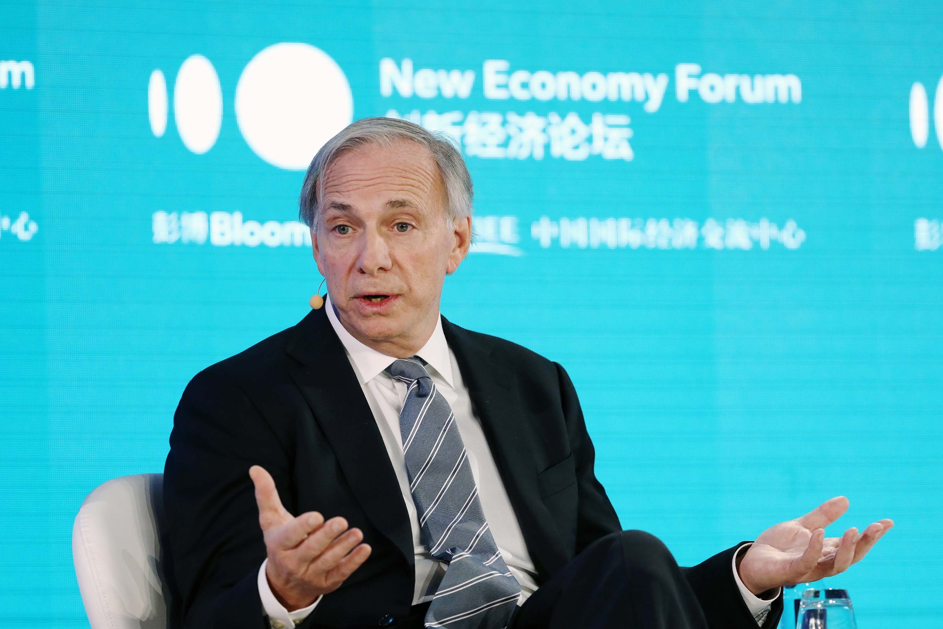 Ray Dalio says the global economy is heading for a 'great sag'