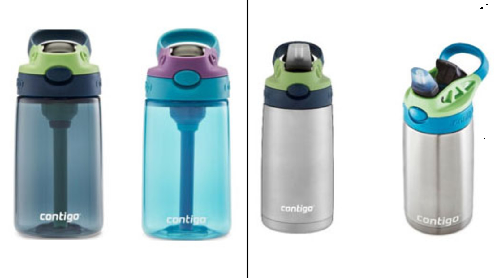 Contigo recalls nearly 6 million of its kids water bottles due to a choking hazard. Again.