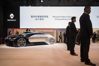 Renault makes another bet on China's huge market for electric cars