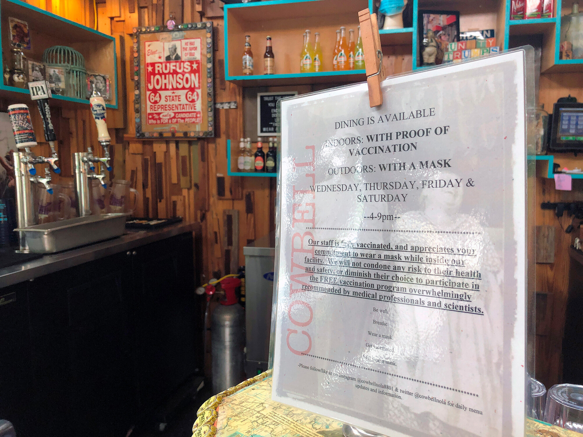 F-bombs and hate mail: Restaurants take heat when they ask for proof of vaccination