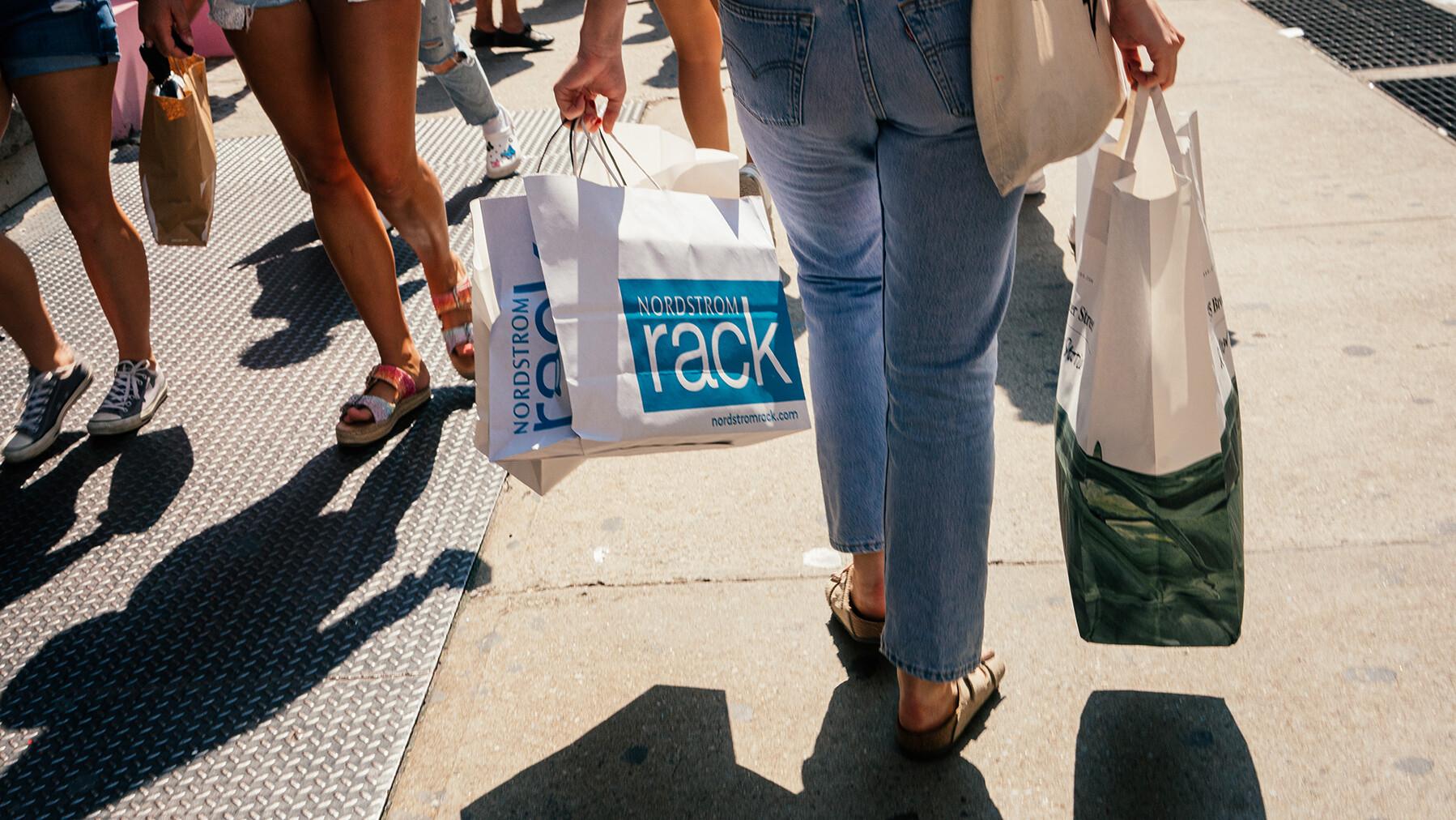 Shoppers are still spending despite the Delta variant