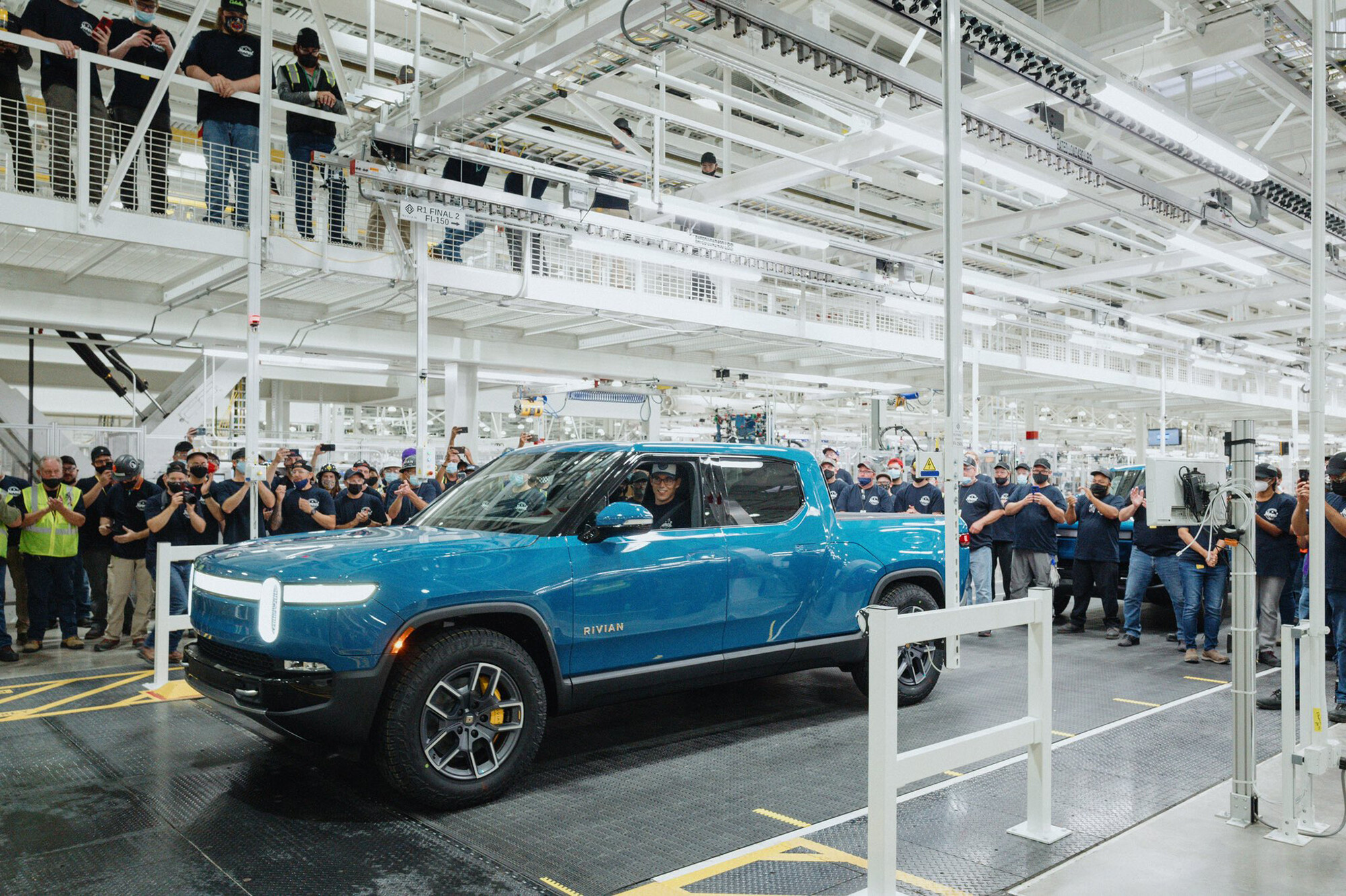 Rivian beats Tesla, GM and Ford to build the first electric pickup truck