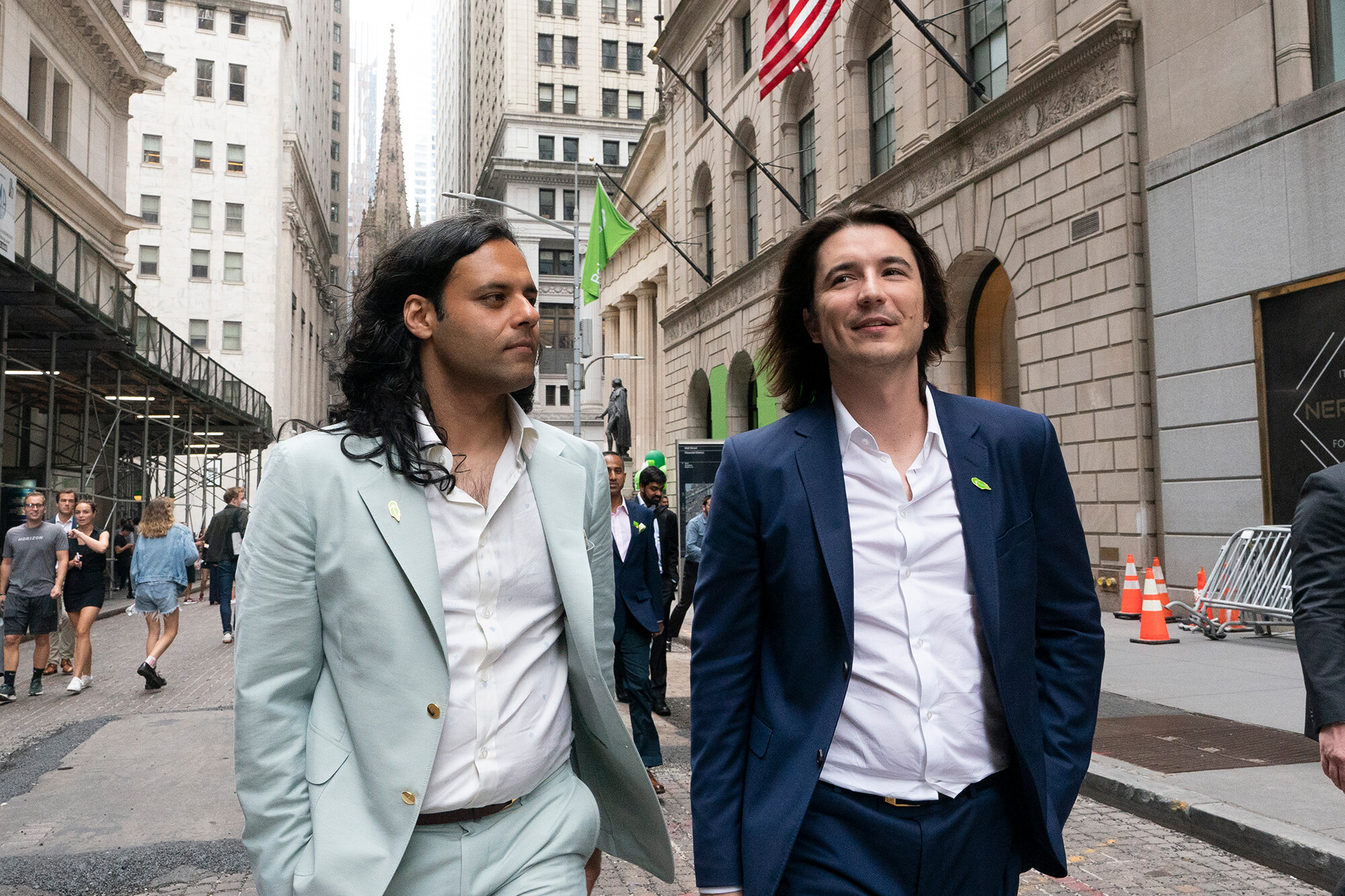 Robinhood's stock slides after massive two-day rise