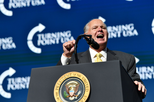 Image for Rush Limbaugh says he has been diagnosed with advanced lung cancer