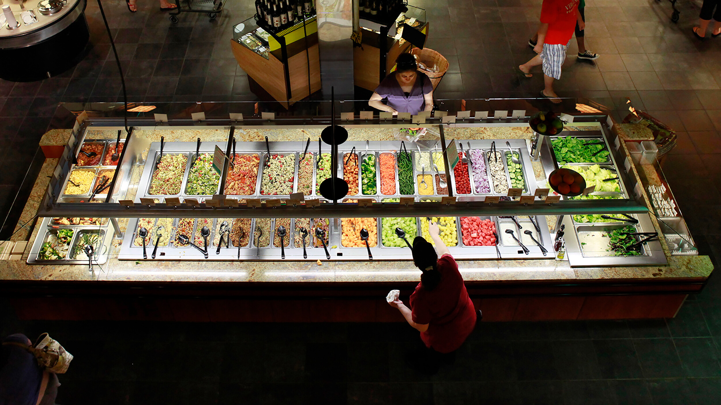 Why salad bars may never come back