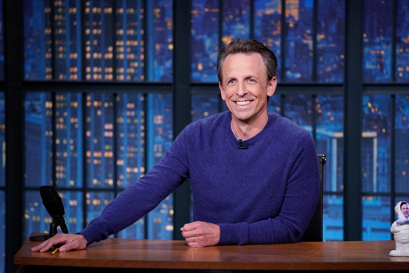 What Seth Meyers learned from doing a year of late night TV during a pandemic