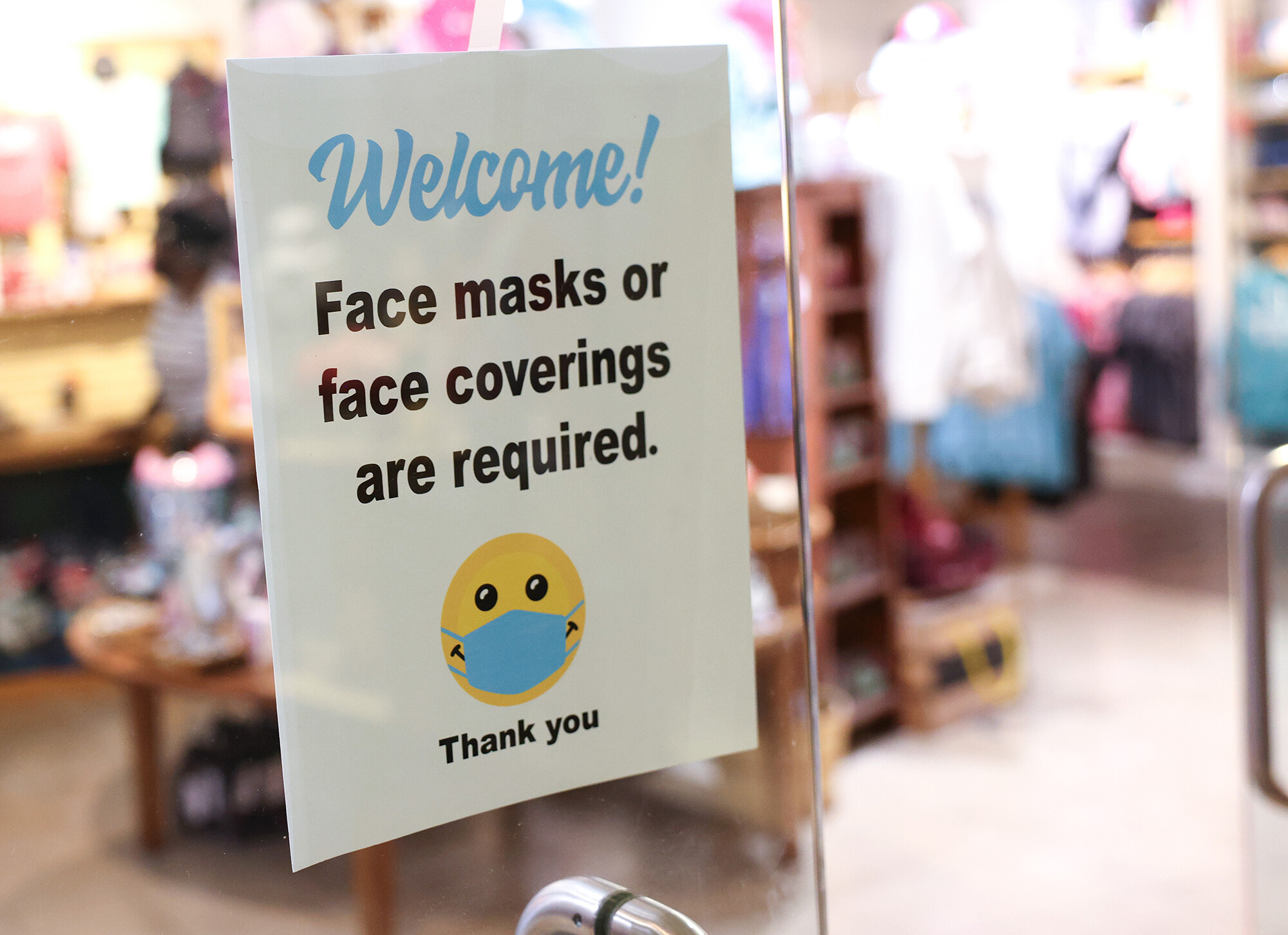 The small business masking dilemma: 'You feel like you're the police'