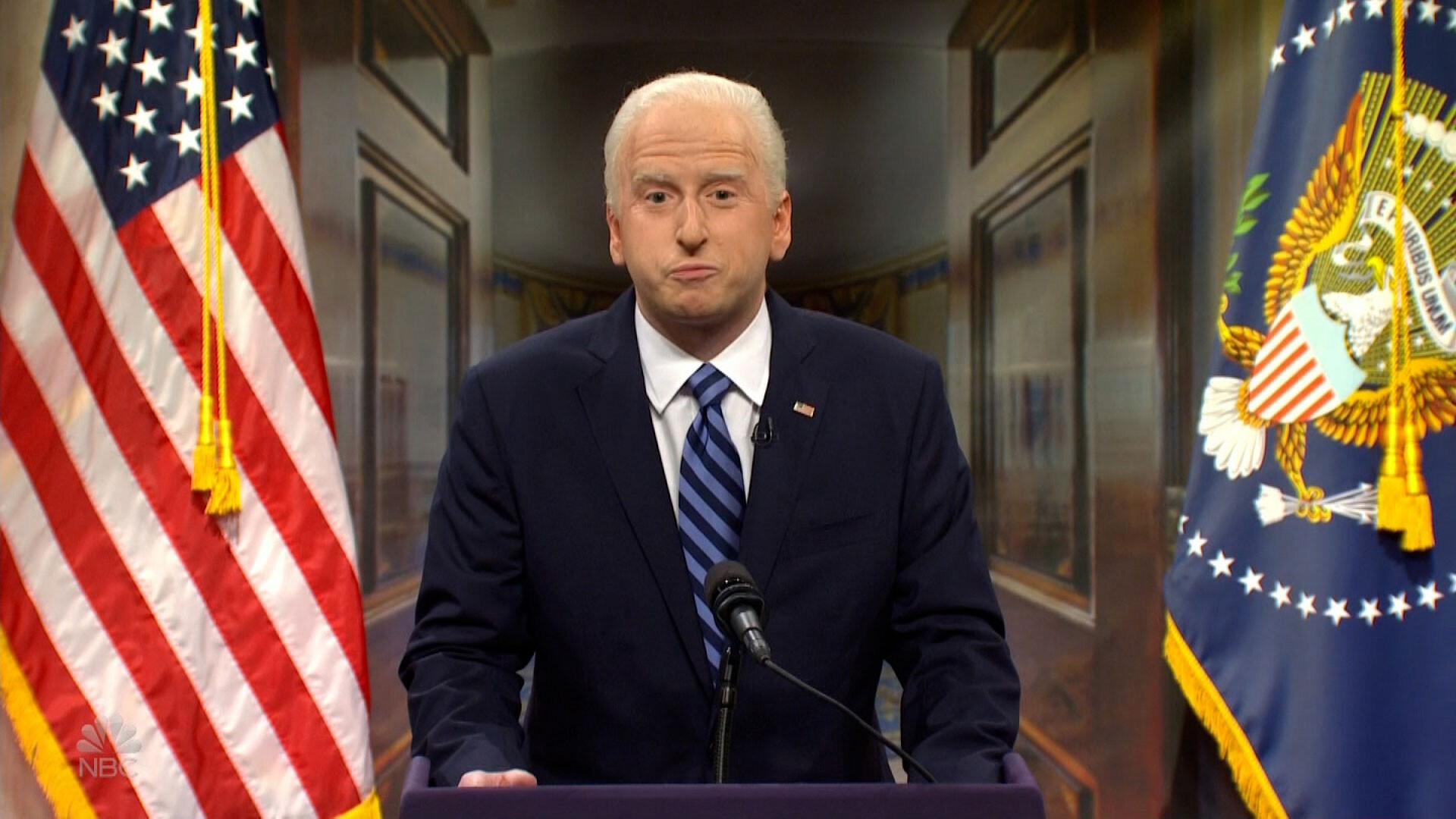 'SNL' returns with a new Joe Biden, looking to unite Democrats