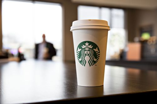 Image for Starbucks is giving free coffee to health care workers this month