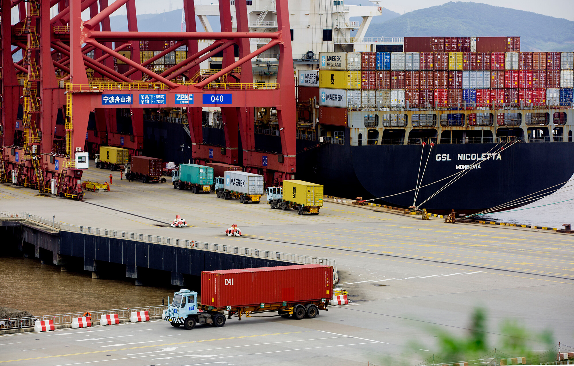 Global trade is in disarray. It's still booming