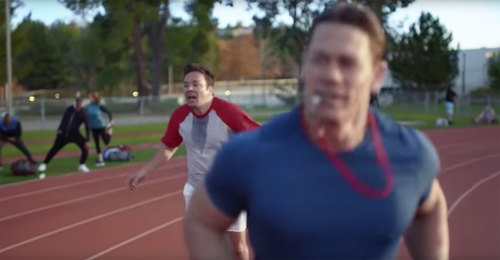 Image for Super Bowl ad starring Jimmy Fallon aims to inspire those who love beer but hate working out