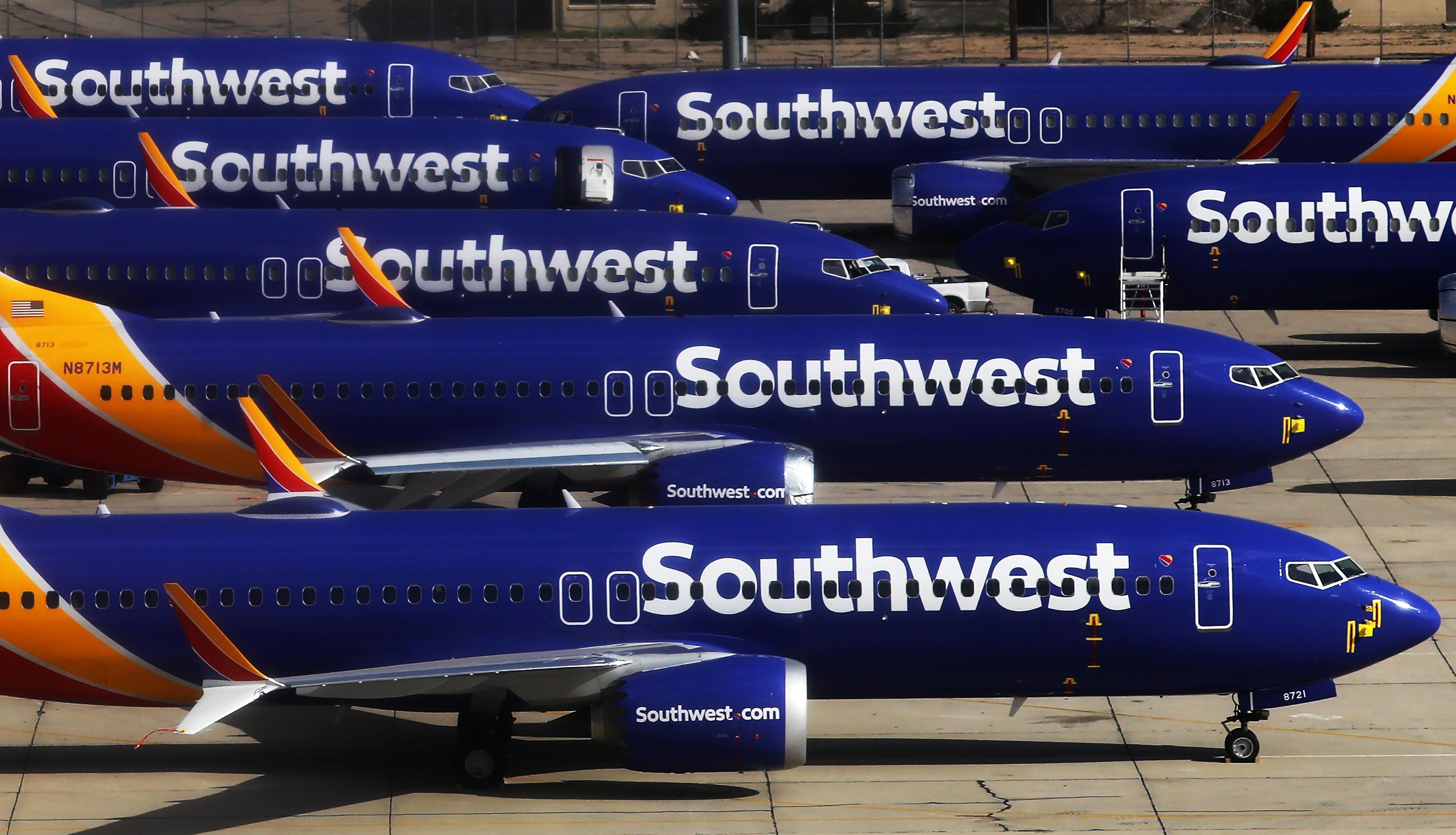 Southwest extends 737 Max flight cancellations through November 2