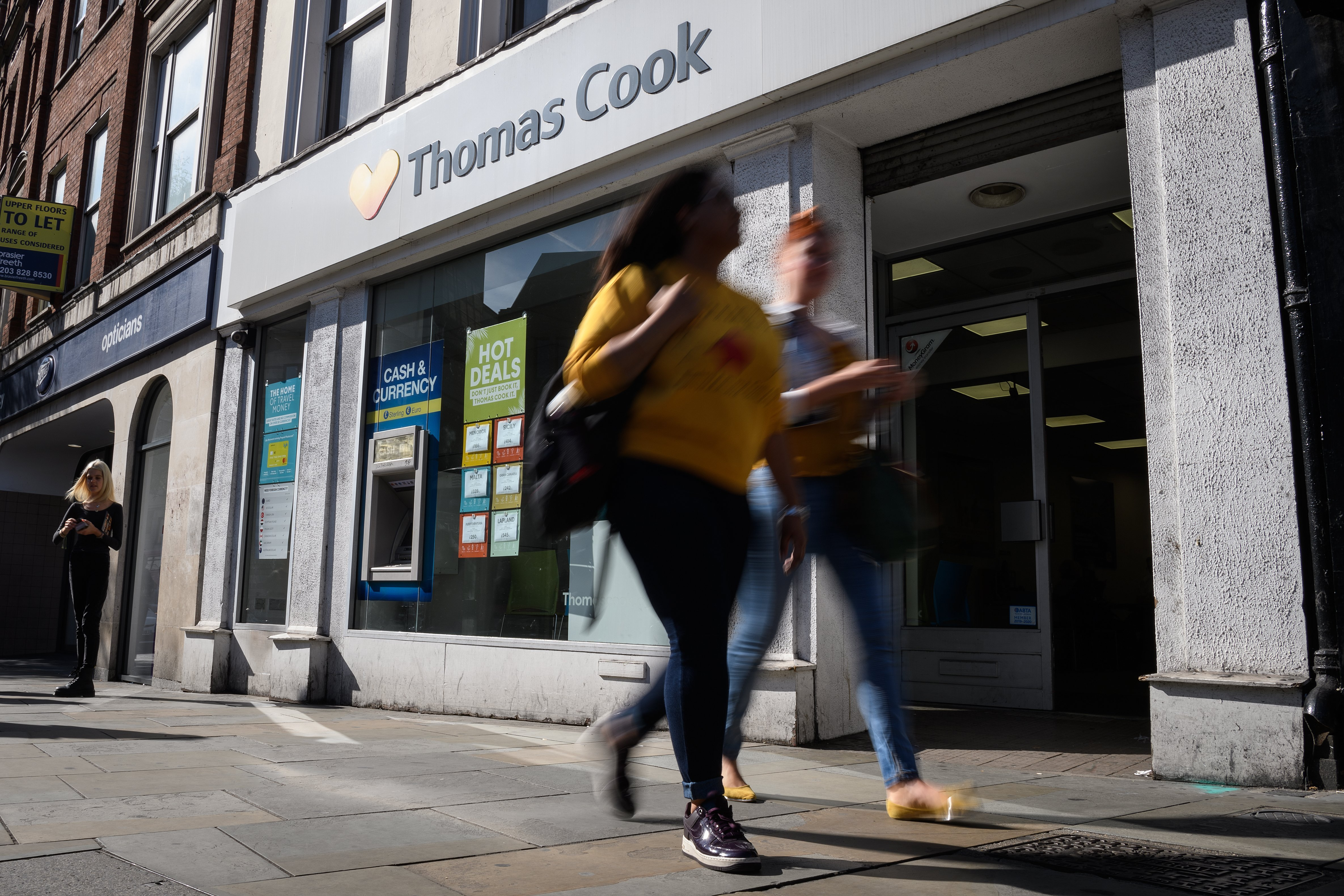 Tourists face nerve-racking wait as travel firm Thomas Cook teeters on brink of collapse