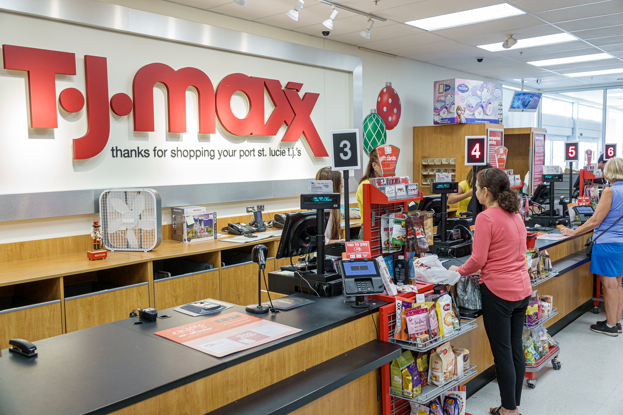 TJ Maxx hopes customers will 'revenge shop' to make up for a lost year
