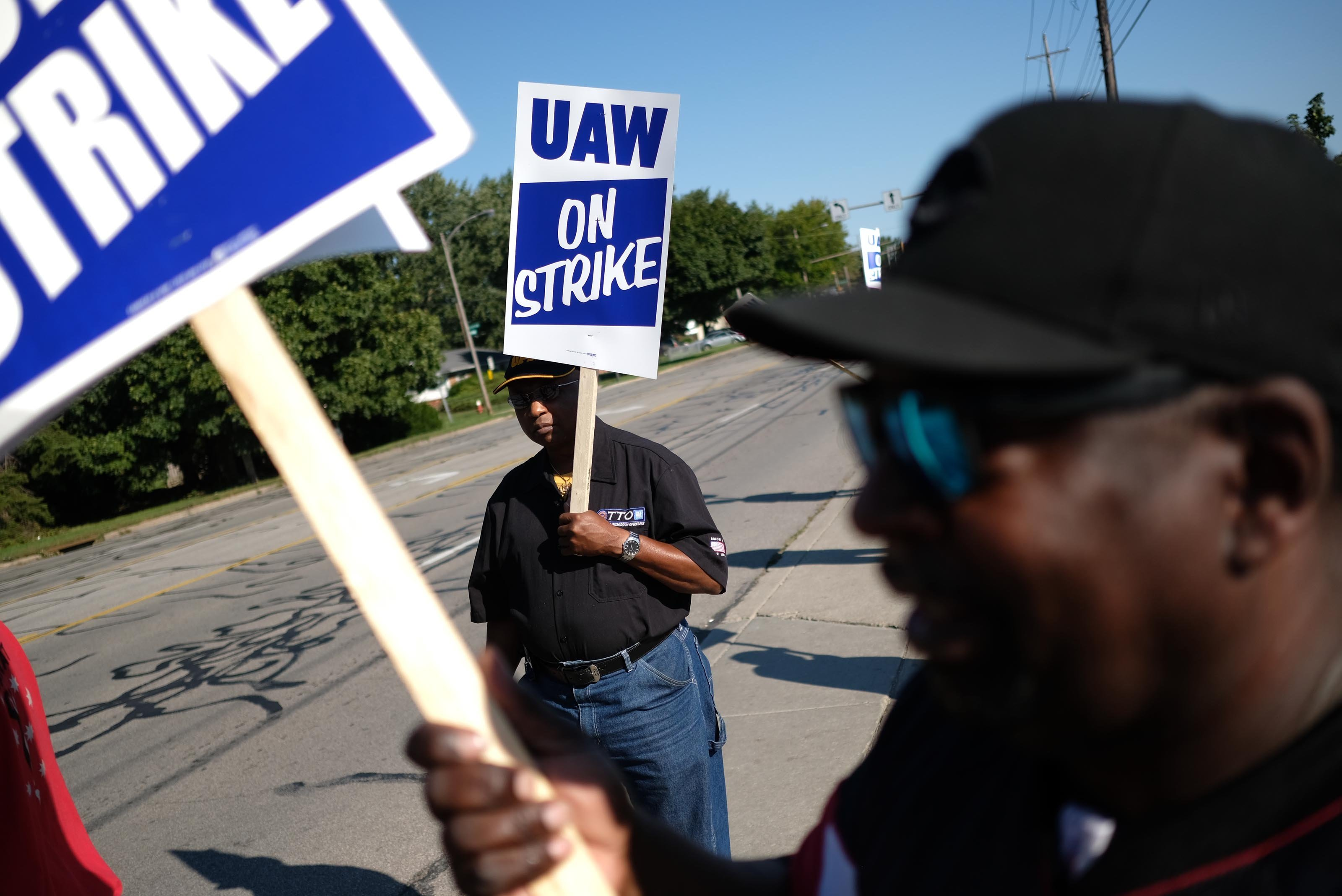 United Auto Workers' GM strike reaches day five and the pain is spreading