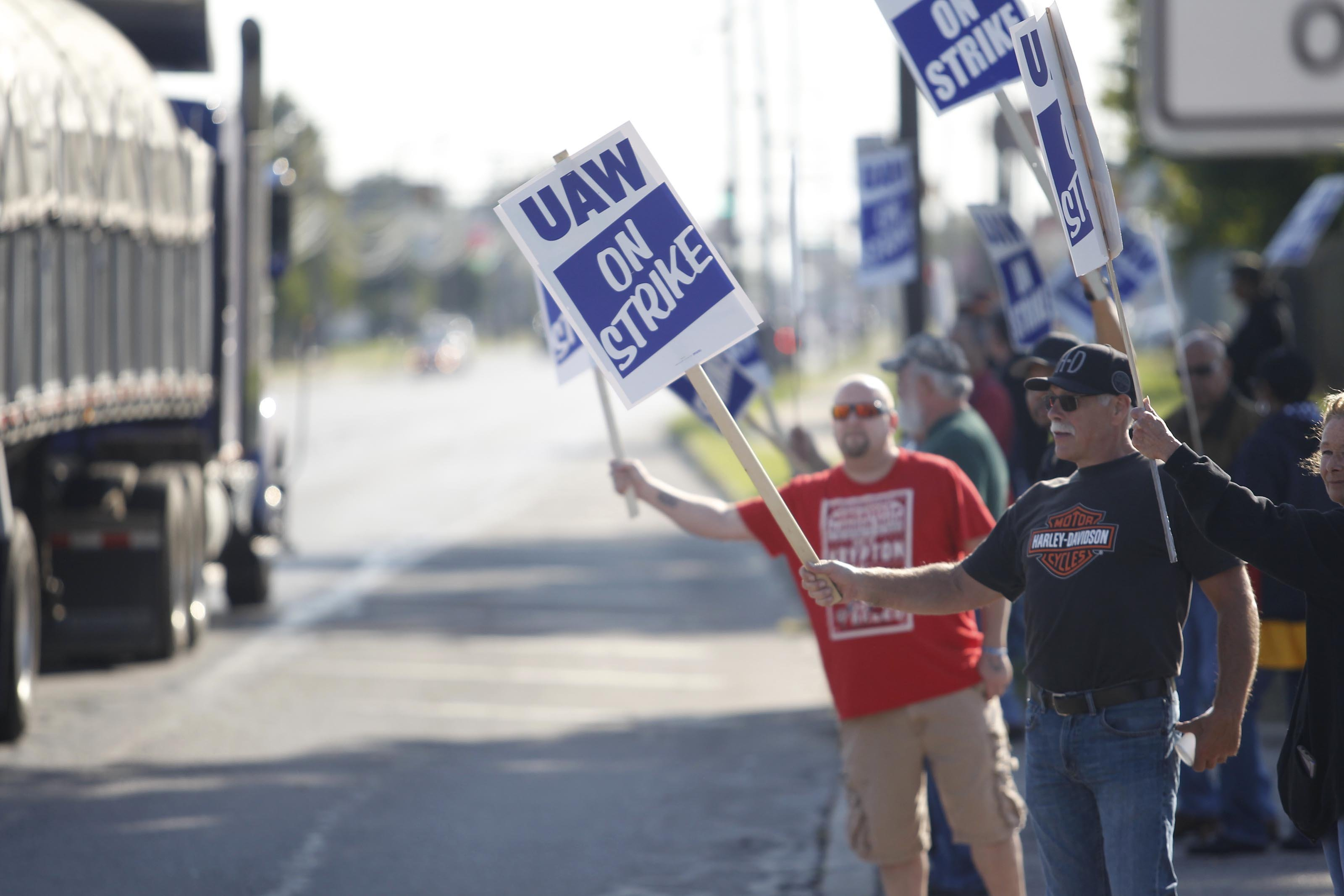 How the GM strike could start a Midwest recession