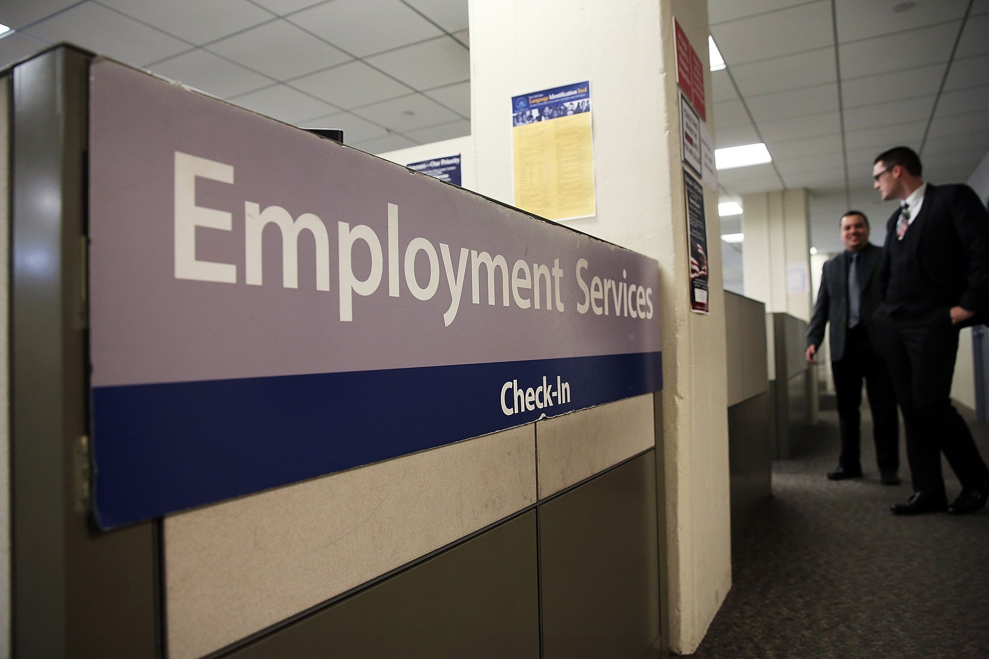 Jobless claims suddenly jumped to a two-year high