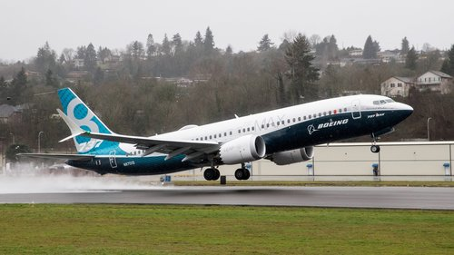Image for United Airlines will cancel more Boeing 737 Max flights