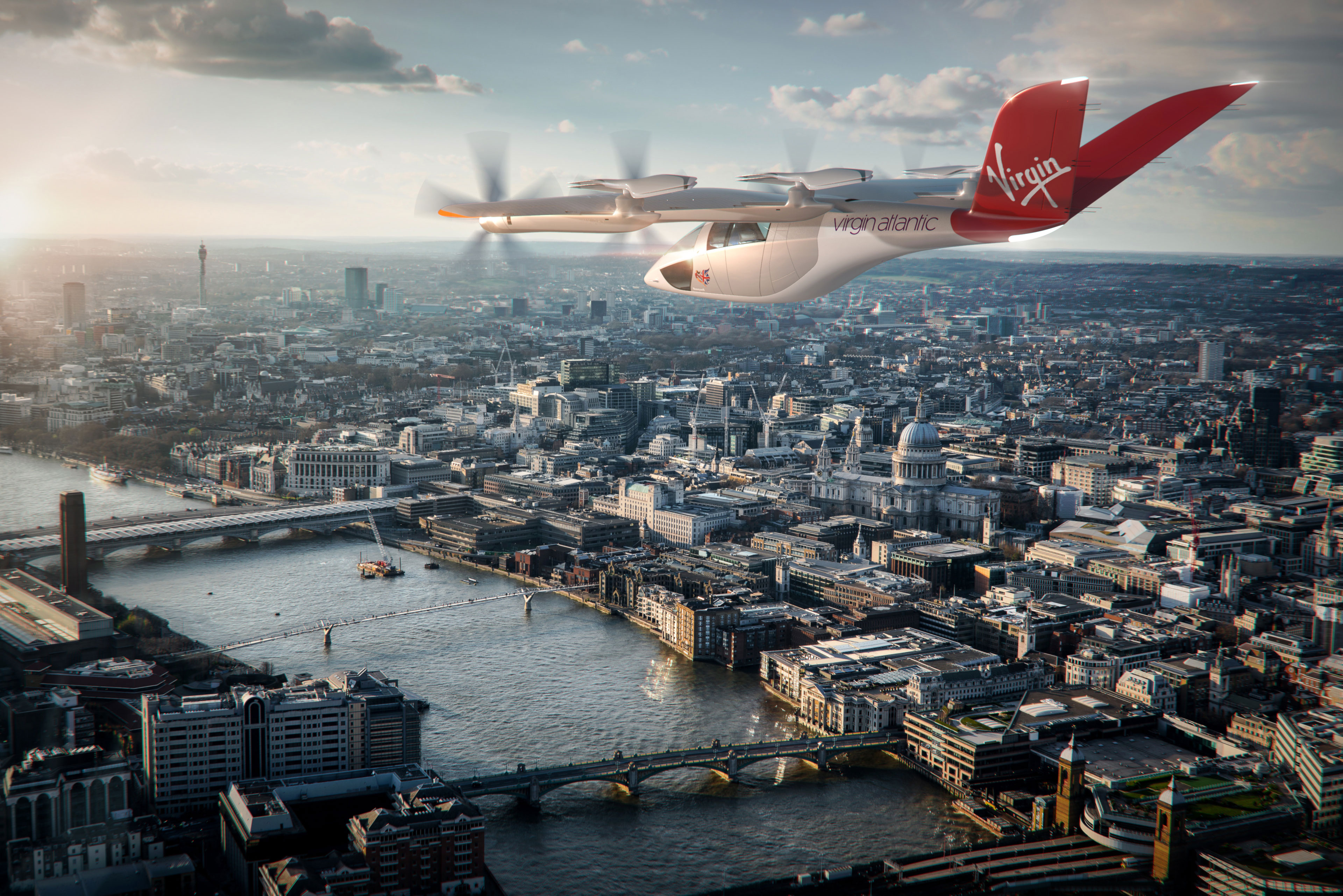 American Airlines and Virgin Atlantic order electric air taxis from UK startup