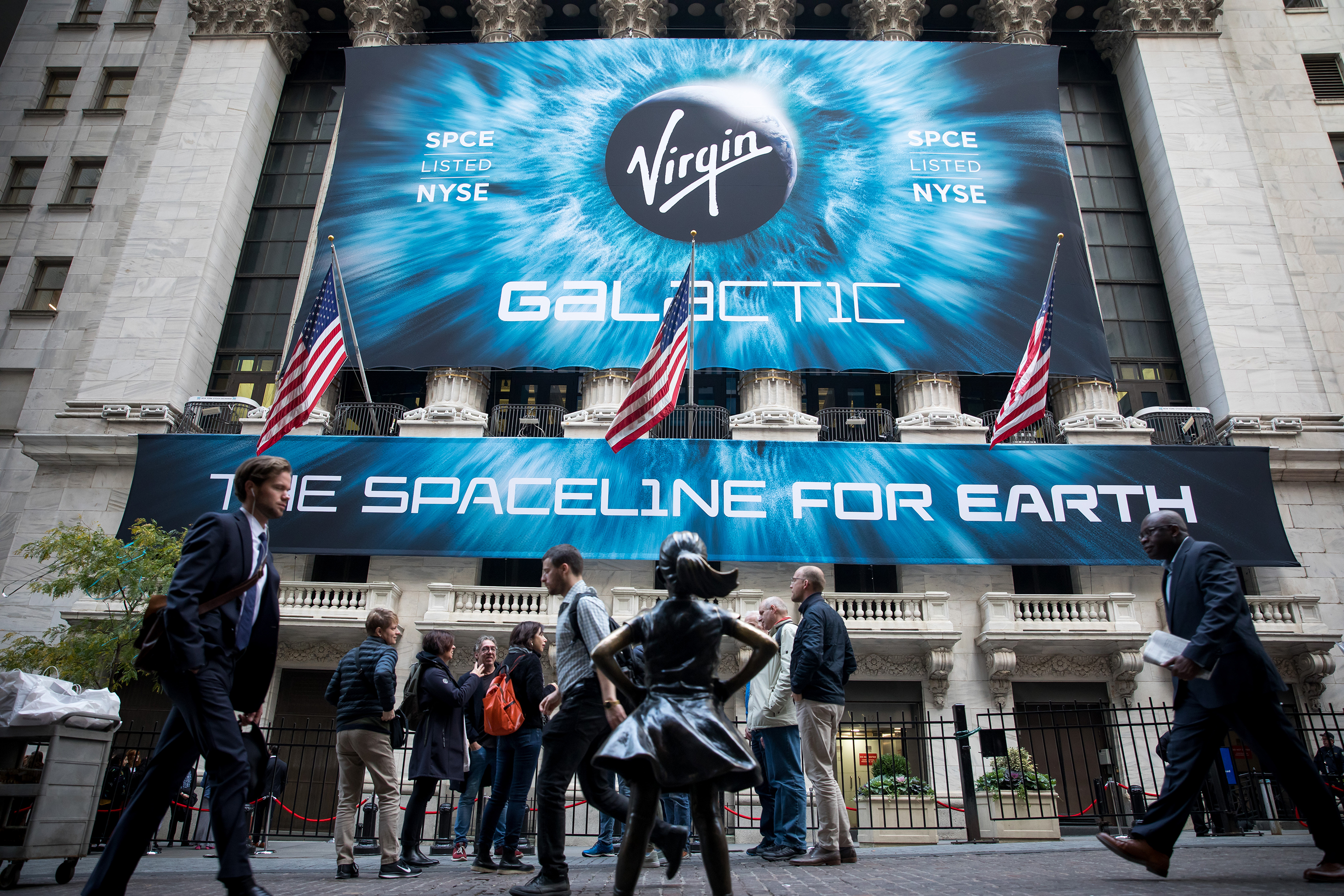Wall Street's UFO sighting: More to space stocks than Virgin Galactic