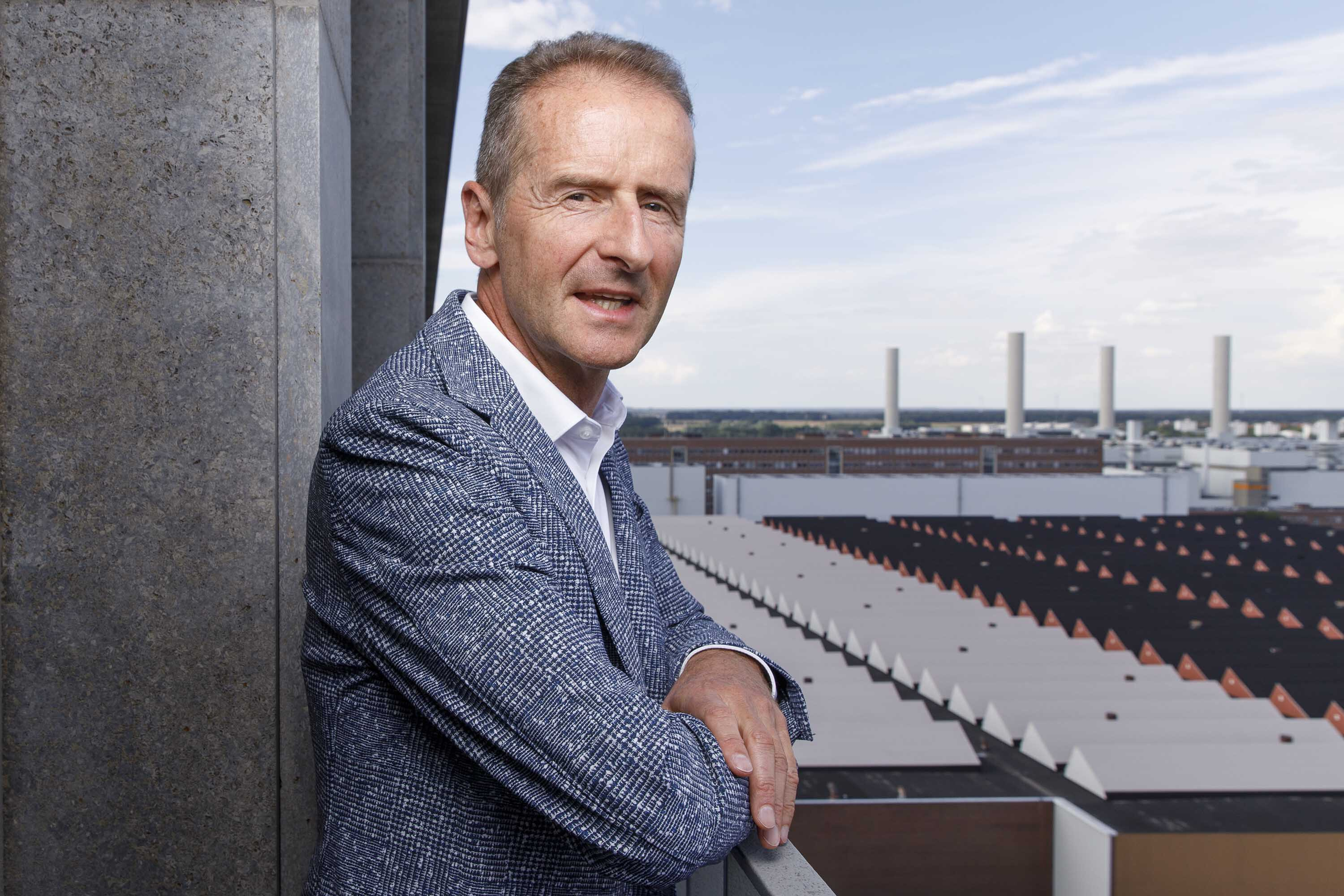 Volkswagen CEO Herbert Diess on the race to electric, the chip shortage and Elon Musk