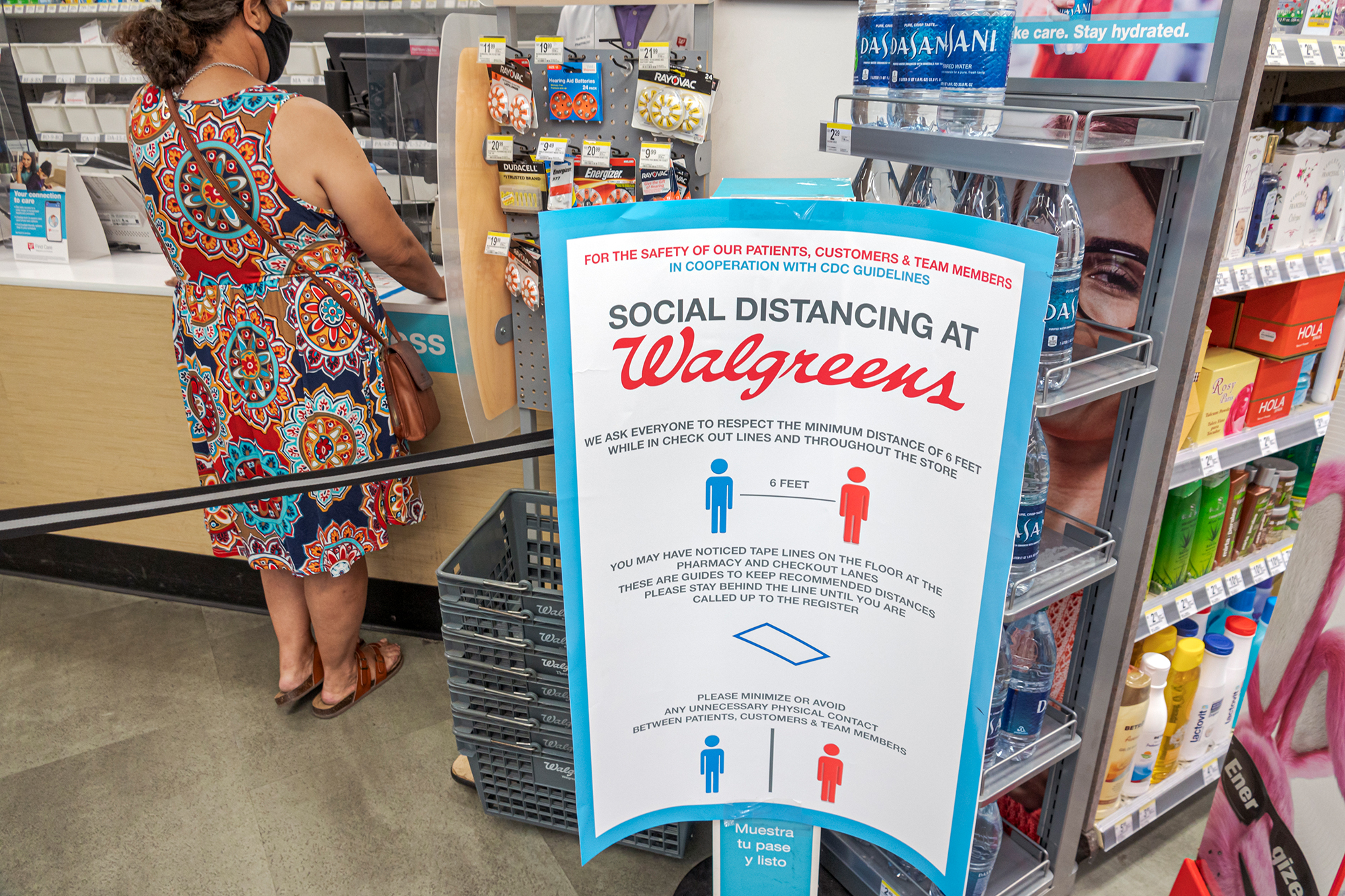 Welcome to Walgreens. The doctor will be with you soon